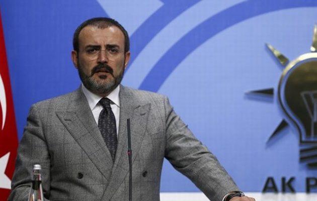 «Ο Ερντογάν έχει 55% στις δημοσκοπήσεις» λέει ο εκπρόσωπος του κόμματός του