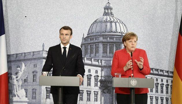 Τι συμφώνησαν Μέρκελ και Μακρόν στη συνάντηση τους στο Βερολίνο