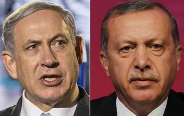 Άγριος καβγάς Ερντογάν-Νετανιάχου – Τουρκία και Ισραήλ σε σύγκρουση