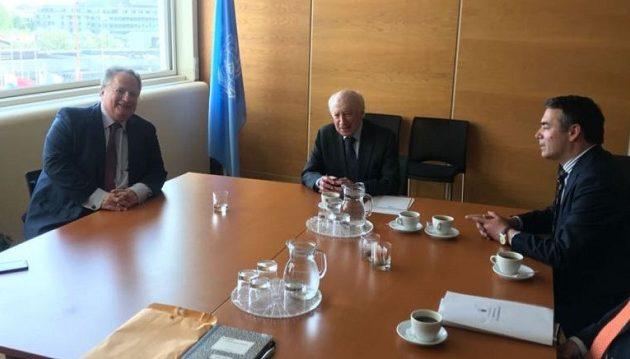 Τι είπε ο Νίμιτς μετά τη συνάντηση με Κοτζιά και Ντιμιτρόφ στη Βιέννη