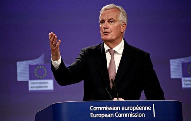 Μπαρνιέ: Mπορεί να μην υπάρξει συμφωνία για το Brexit