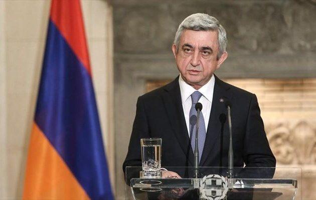 Διαδηλώσεις στην Αρμενία κατά της υποψηφιότητας Σαρκισιάν για την πρωθυπουργία