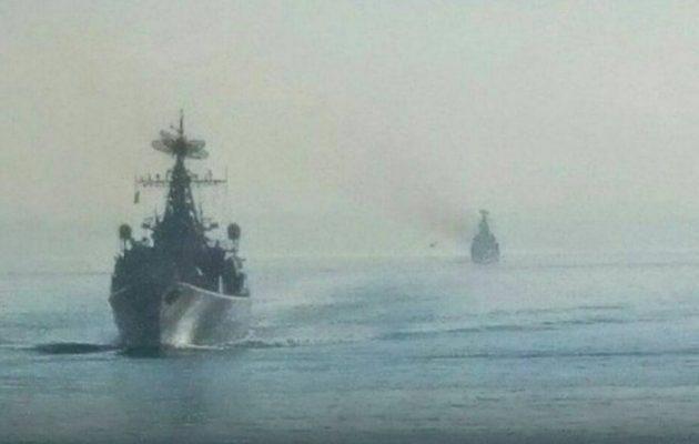 Ρωσικά πολεμικά κατευθυνόμενων βλημάτων πέρασαν τον Βόσπορο και πλέουν προς τη Συρία