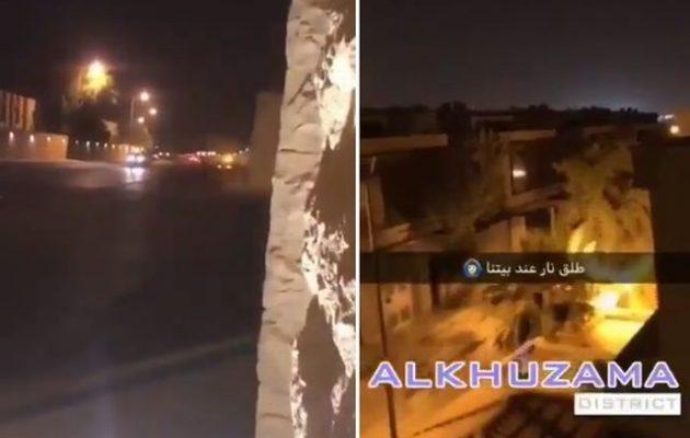 Πυροβολισμοί σε μικρή απόσταση από τα ανάκτορα της Σαουδικής Αραβίας (βίντεο)