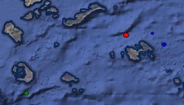 """Ισχυρός σεισμός 4,9 Ρίχτερ «ταρακούνησε"""" τα Δωδεκάνησα"""