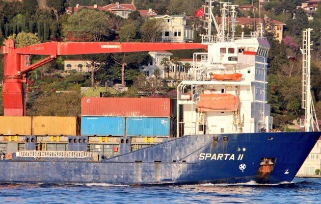 Το ρωσικό «SPARTA» έφτασε στη Συρία φορτωμένο όπλα – Φήμες ότι μεταφέρει S-300