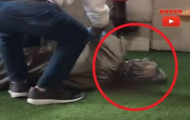 Δείτε το βίντεο ντοκουμέντο από τη δολοφονία του Τούρκου πρώην υπουργού (βίντεο)
