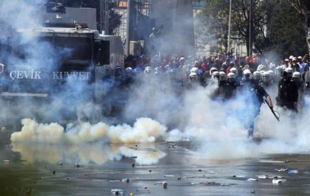 26.000 αστυνομικούς θα αναπτύξει ο Ερντογάν την Πρωτομαγιά στην Κωνσταντινούπολη