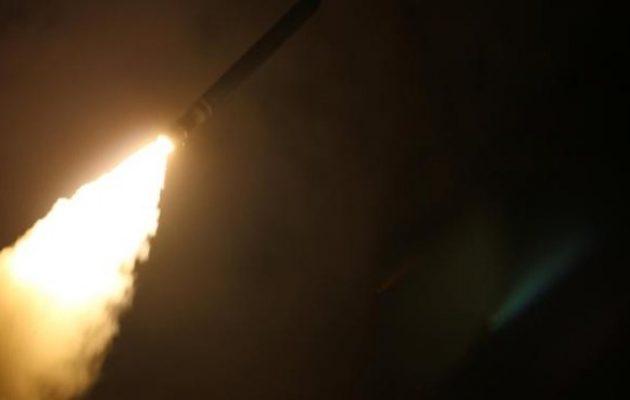 Βίντεο του Πεντάγωνου δείχνει την επίθεση με Tomahawk στη Συρία