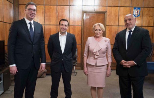 Τσίπρας την τετραμερή: Οι βαλκανικές χώρες να καθορίζουν τις εξελίξεις