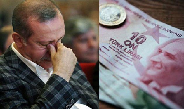 Ο Τραμπ «σκάει» την τουρκική οικονομική φούσκα – 6,87 λίρες ανά δολάριο – Στις 7 λίρες «καίγεται»