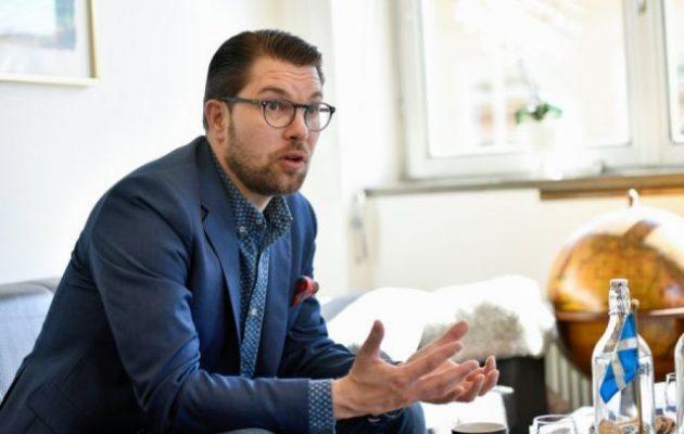 «Σαρώνει» στα γκάλοπ το αντιμεταναστευτικό κόμμα της Σουηδίας – Τα ποσοστά του!