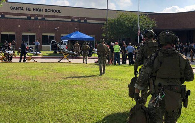 Μακελειό σε λύκειο του Τέξας: Οκτώ νεκροί από τα πυρά ενόπλου (φωτο+βίντεο)