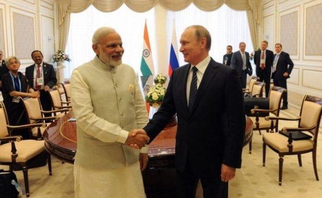 Τρεις ώρες θα κρατήσει το τετ-α-τετ του Πούτιν με τον πρωθυπουργό της Ινδίας