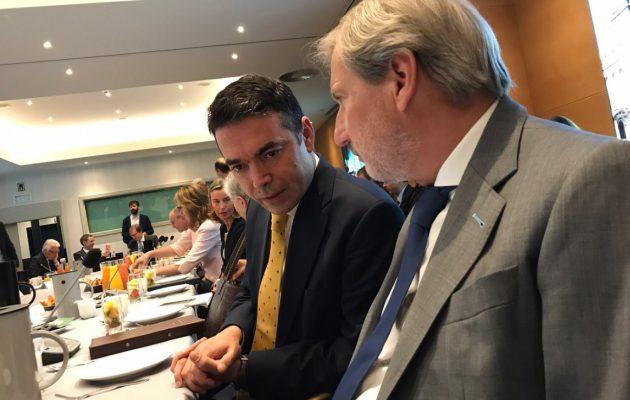 Ντιμιτρόφ: Στο «τελικό στάδιο» οι διαπραγματεύσεις για το όνομα