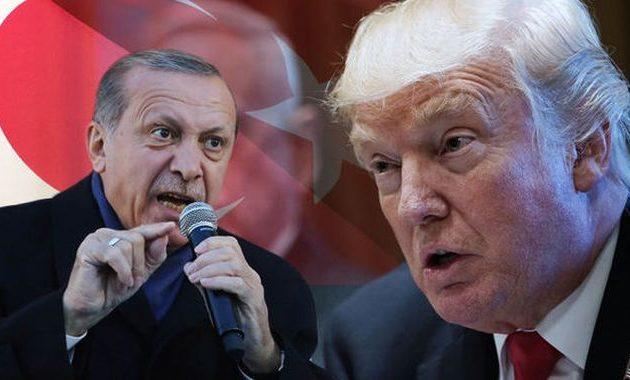 Αποφασισμένος ο Τραμπ να γονατίσει τον Ερντογάν – Ο Πενς προειδοποίησε την Τουρκία ότι ο Τραμπ θα τη λιώσει