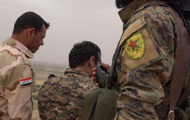 Κοινές στρατιωτικές επιχειρήσεις Κούρδων (SDF) και Ιρακινών στην παραμεθόριο Συρίας-Ιράκ