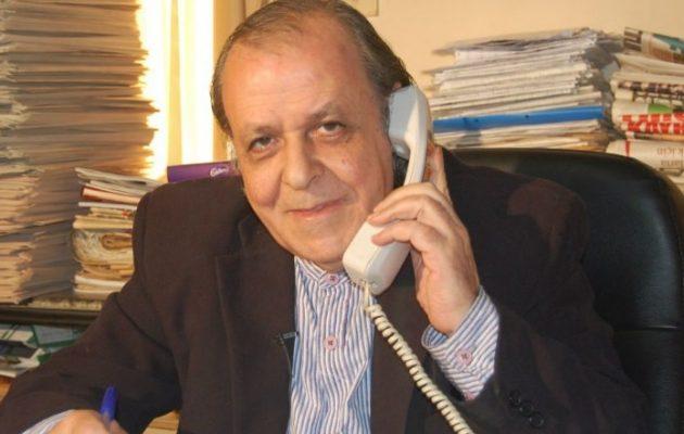 Ο Τουρκοκύπριος δημοσιογράφος Σενέρ Λεβέντ κατέθεσε μήνυση κατά του Ρετζέπ Ταγίπ Ερντογάν
