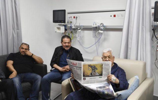 Ο 83χρονος Αμπάς έδωσε φωτογραφίες από το νοσοκομείο – Από τι πάσχει (φωτο)