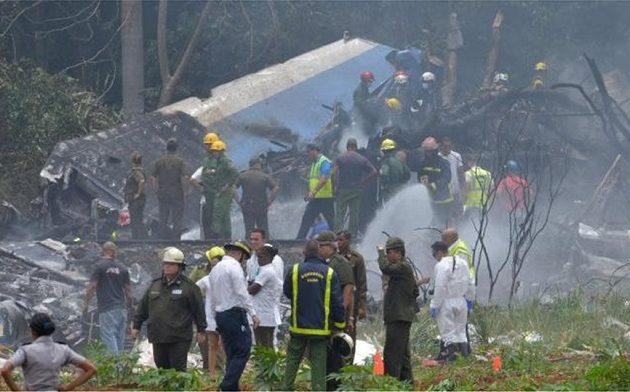 Βρέθηκαν τρεις επιζώντες στα συντρίμμια του αεροσκάφους που έπεσε στην Αβάνα