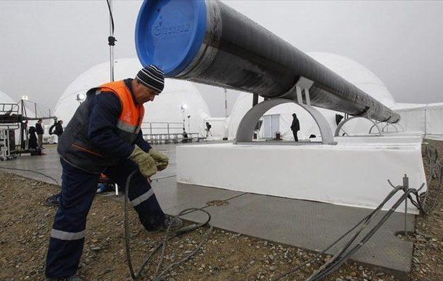 """""""Πόλεμος"""" Γερμανών-Αμερικανών για τον ρωσικό αγωγό φυσικού αερίου Nord Stream 2"""