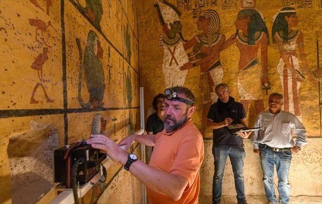 «Σκάναραν» τον τάφο του Τουταγχαμών για μυστικούς θαλάμους – Τι αποδείχθηκε (φωτο)