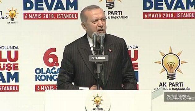 Σε κατάσταση «ροκ» ο Ερντογάν: Θέλω να μπω στην ΕΕ αλλά πρώτα να… κατακτήσω τη βόρεια Συρία