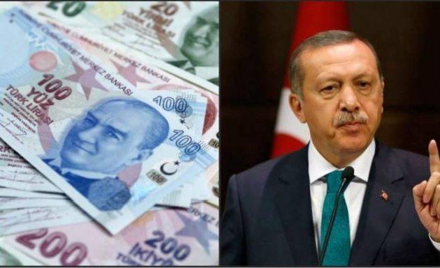 Γκρεμίζεται η τουρκική λίρα – 6,15 λίρες προς 1 δολάριο – Οριακά η τουρκική οικονομία