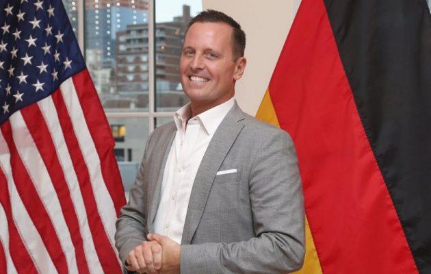 Ο Αμερικανός Πρέσβης στο Βερολίνο προειδοποίησε γερμανικές εταιρείες με κυρώσεις για τον Nord Stream 2