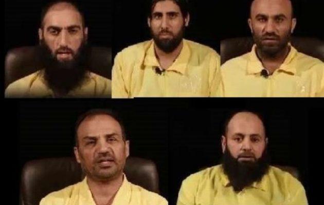 Αυτοί είναι οι πέντε ηγέτες της οργάνωσης Ισλαμικό Κράτος που συνελήφθησαν στη Συρία