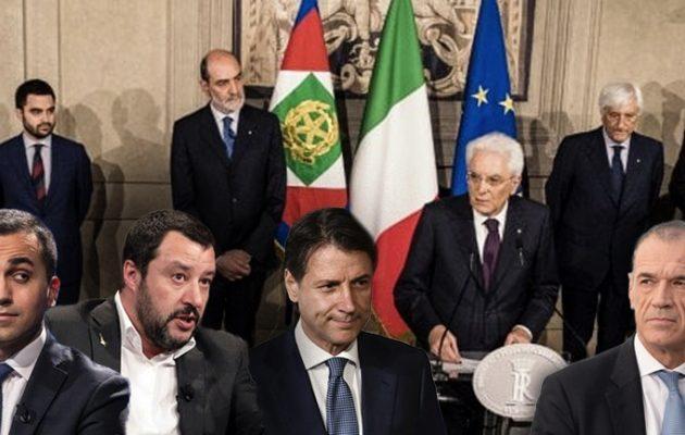 Το χάος στην Ιταλία «βουλιάζει» τις διεθνείς αγορές – Ελεύθερη πτώση για το ευρώ