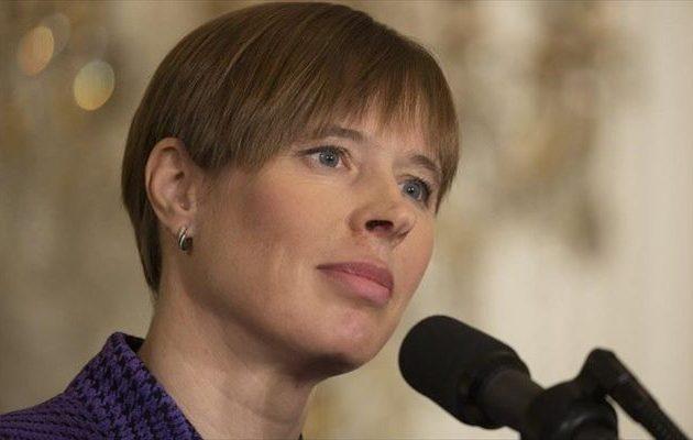 Η Πρόεδρος της Εσθονίας έρχεται για δύο μέρες στην Ελλάδα – Τι θα κάνει