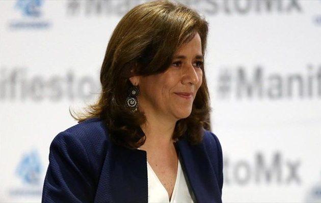 Απέσυρε την υποψηφιότητά της η πρώην «πρώτη κυρία» του Μεξικού