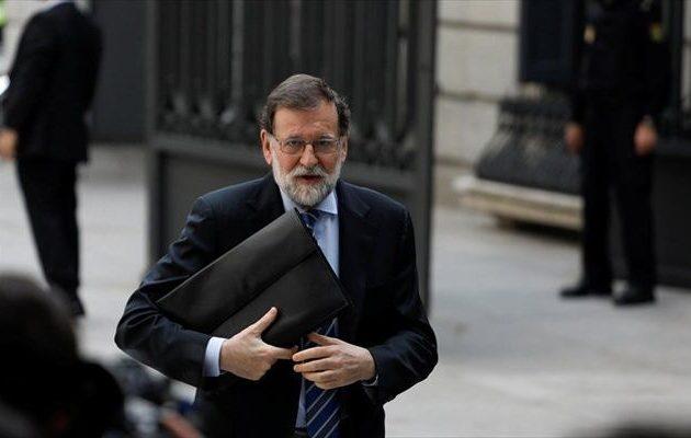 Ο Ραχόι παραιτείται από πρόεδρος του Λαϊκού Κόμματος, λένε τα ισπανικά μέσα