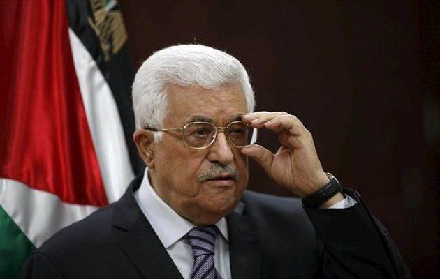 Παρέμβαση Αμπάς στον ΟΗΕ για το ειρηνευτικό σχέδιο στη Μέση Ανατολή