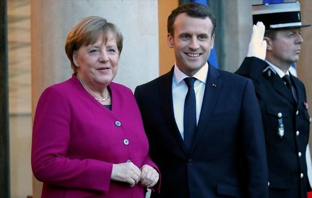 Ο Mακρόν θέλει Μέρκελ για την προεδρία της Κομισιόν