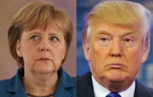 Τραμπ και Μέρκελ συνομίλησαν για Μέση Ανατολή και Λιβύη