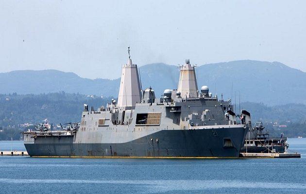 Στην Κέρκυρα το πολεμικό πλοίο που φτιάχτηκε από 7,5 τόνους συντρίμμια των Δίδυμων Πύργων