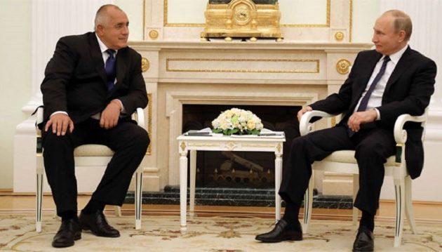 Ο Μπορίσοφ συμφώνησε να περάσει αγωγό ρωσικού φυσικού αερίου μέσα από τη Βουλγαρία