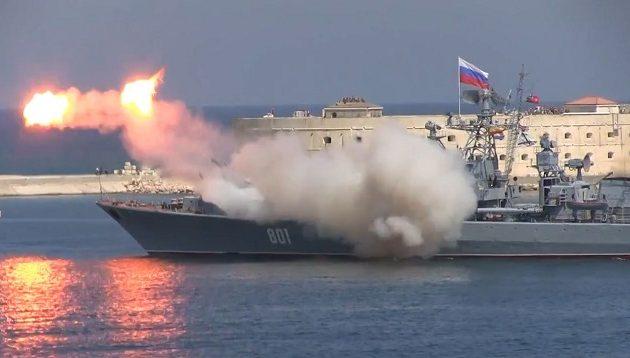 Ο Πούτιν στέλνει πολεμικά πλοία εξοπλισμένα με πυραύλους να περιπολούν στη Μεσόγειο