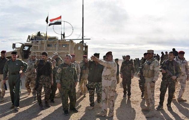 Οι Κούρδοι (SDF) ανέλαβαν τον έλεγχο των συνόρων της Συρίας με το Ιράκ