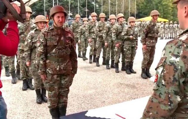 Βόρεια Μακεδονία: Η Ελλάδα αναλαμβάνει και τον στρατό της που πριν εκπαίδευαν οι Τούρκοι