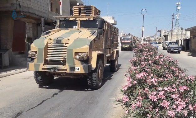Οι Τούρκοι ενισχύουν τα φυλάκια τους στη Ιντλίμπ της Συρίας – Νέα μεταφορά κατοχικών στρατευμάτων