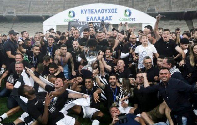 Ο ΠΑΟΚ κυπελλούχος Ελλάδας – Νίκησε στο ΟΑΚΑ 2-0 την ΑΕΚ