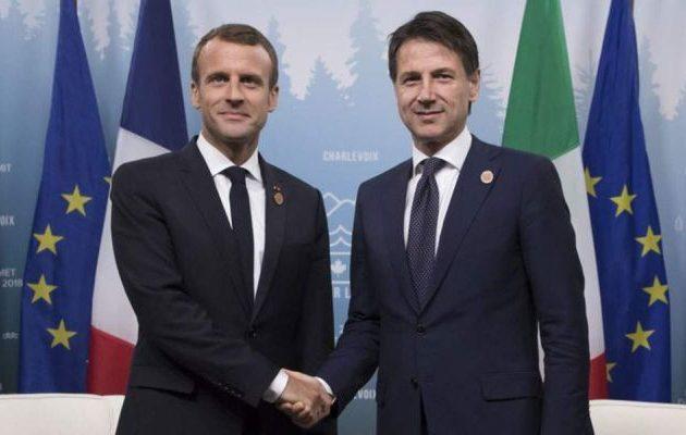 Κανονικά το ραντεβού Μακρόν-Κόντε μετά την «άτακτη υποχώρηση» του Γάλλου Προέδρου
