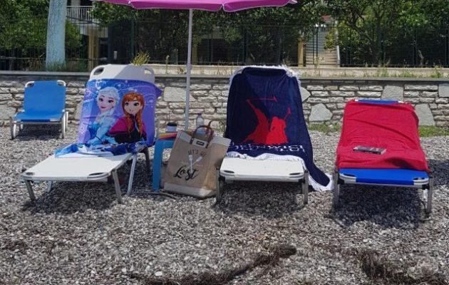 Πετσέτες για τη θάλασσα για όλη την οικογένεια