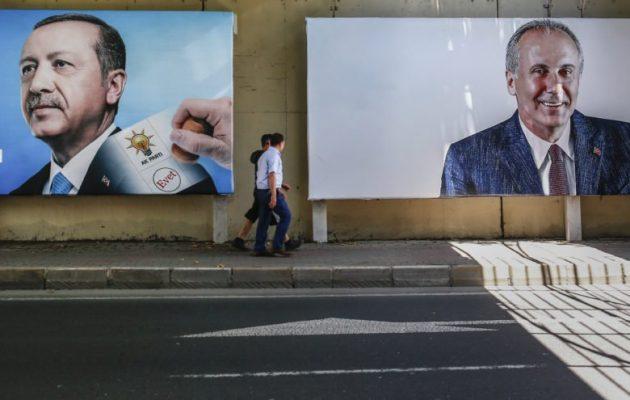 Η τελευταία προεκλογική σύγκρουση Ερντογάν-Ιντζέ στην Κωνσταντινούπολη