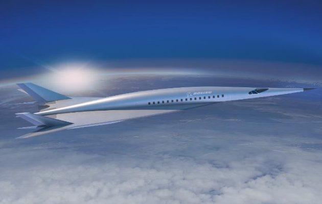Φοβερό! Το νέο υπερηχητικό επιβατικό της Boeing θα κάνει την πτήση Λονδίνο-Νέα Υόρκη σε δύο ώρες