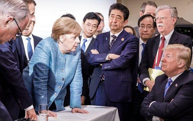 Ο Τραμπ απέσυρε την υπογραφή του από το κείμενο των G7 – Έξαλλος με τον Καναδό πρωθυπουργό