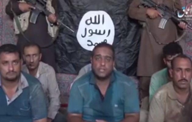 Το Ισλαμικό Κράτος απειλεί να αποκεφαλίσει έξι ομήρους εάν η Βαγδάτη δεν απελευθερώσει τις τζιχαντίστριες